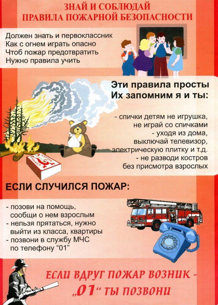 Правила по пожарной безопасности